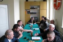 Zebranie Zarządu Rejonowego WOPR - 29.03.2009